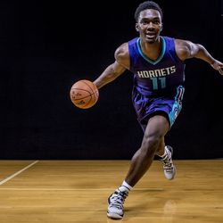 Noah Vonleh was the first pick the newly minted Charlotte Hornets made back in 2014. He was picked ninth overall and joined Cody Zeller on the team.