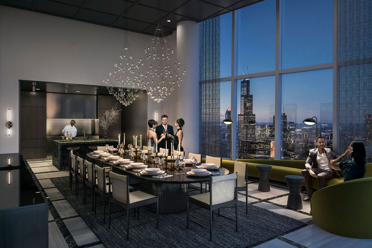 South loop construction update 1000m to break ground in for Best private dining rooms in chicago 2016