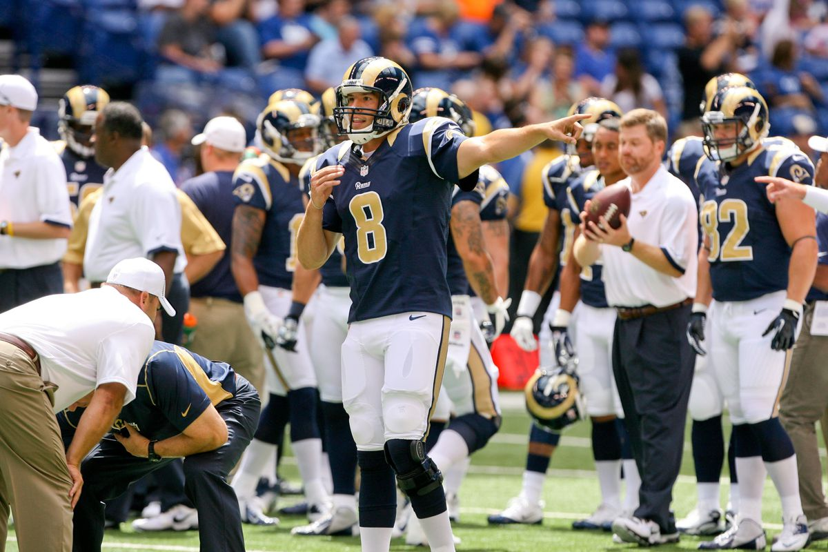 Foyer Home St Louis Reims : Rams vs chiefs all eyes on sam bradford in st louis s