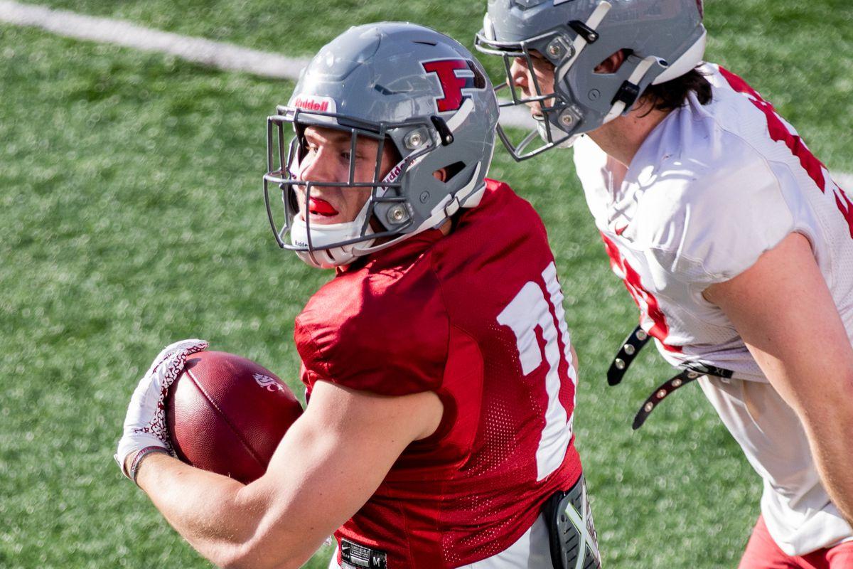 Washington State University Football Spring Practice 4 - Max Borghi