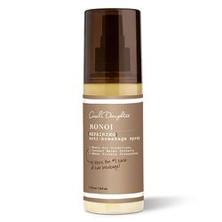 And while you're improving your skin, you might as well repair your hair. <strong>Carol's Daughter</strong> Monoi Repairing Spray visibly (and touchably) repairs over-processed hair—whether from heat styling or coloring. Unlike other hair oils, this one w
