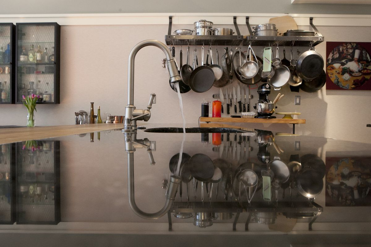 chef jose garces reveals his sleek home kitchen in logan square