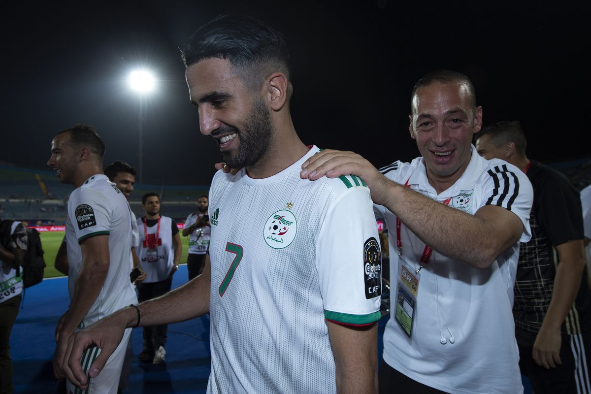 Algeria v Guinea: 2019 Africa Cup of Nations - Round of 16.