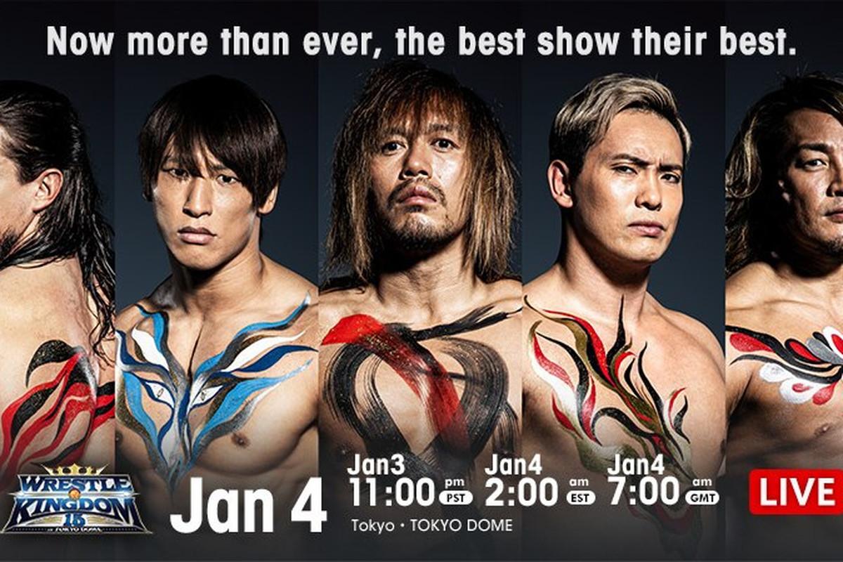 Poster for night one of NJPW Wrestle Kingdom 15