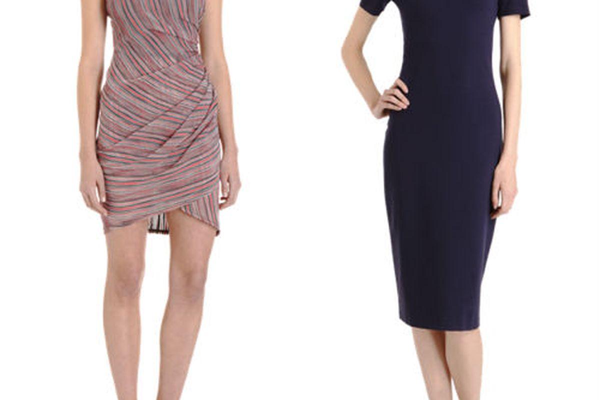 "<a href=""http://www.barneys.com/Sea-Line-Print-Dress/501707270,default,pd.html?cgid=WOMEN05&amp;index=58""><b>Sea</b> Line print dress</a>, $249 (was $410), and <a href=""http://www.barneys.com/The-Row-Remtob-Dress/501567802,default,pd.html?cgid=WOMEN"