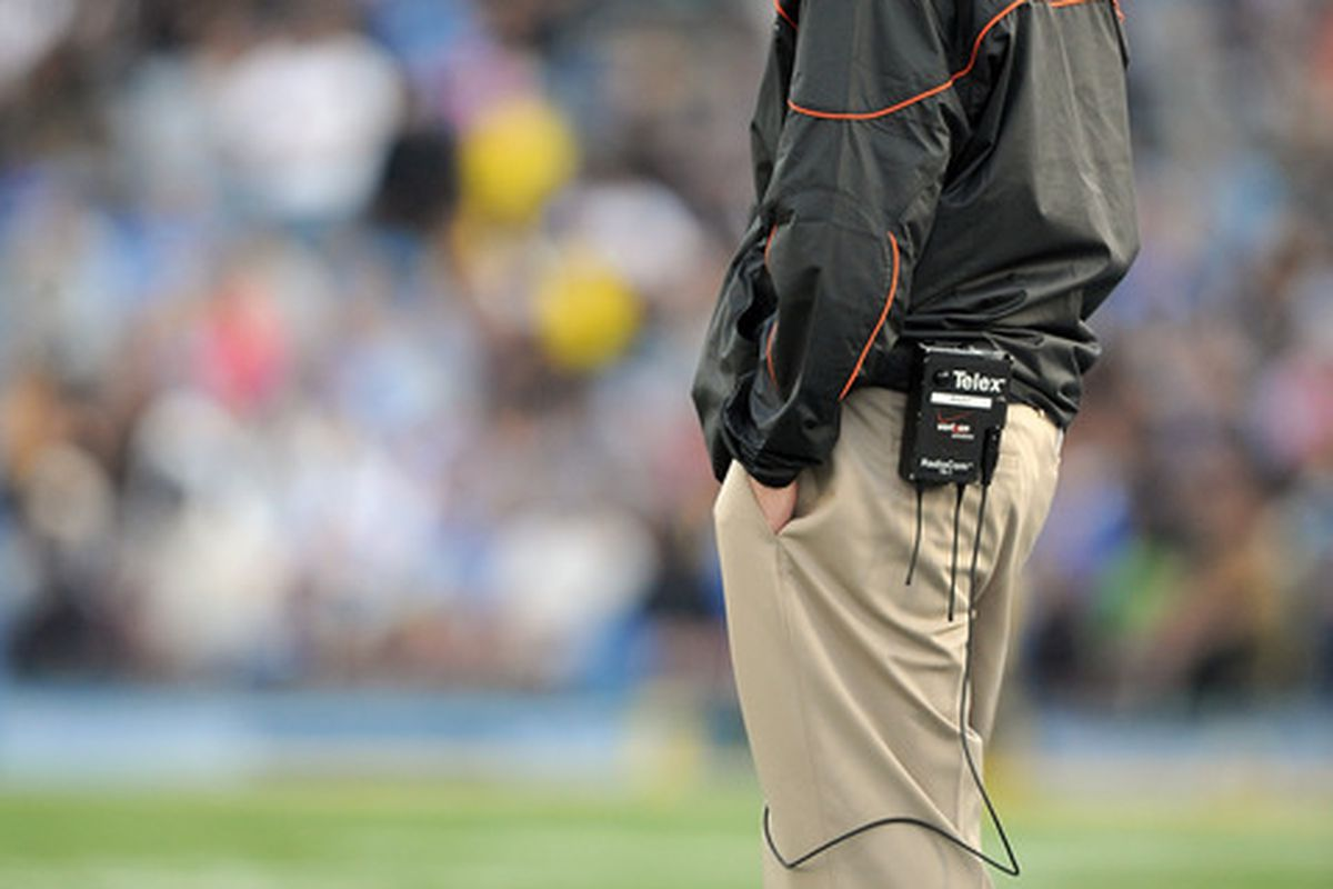 Mike Riley hopes today's Oregon State/UCLA game ends better for the Beavers than last year's matchup.