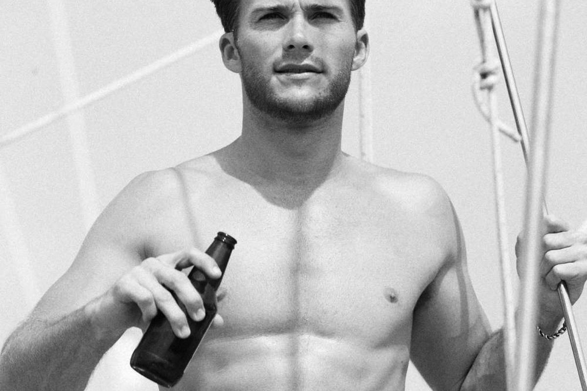 """Not actually an Abercrombie ad. Image by Noe Dewitt, via <a href=""""http://www.townandcountrymag.com/style/mens-fashion/scott-eastwood-photos#slide-2"""">Town &amp; Country</a>"""