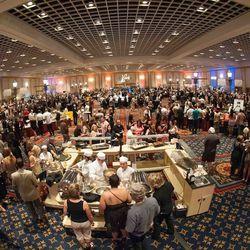 UNLVino's 2013 Grand Tasting at Paris Las Vegas.