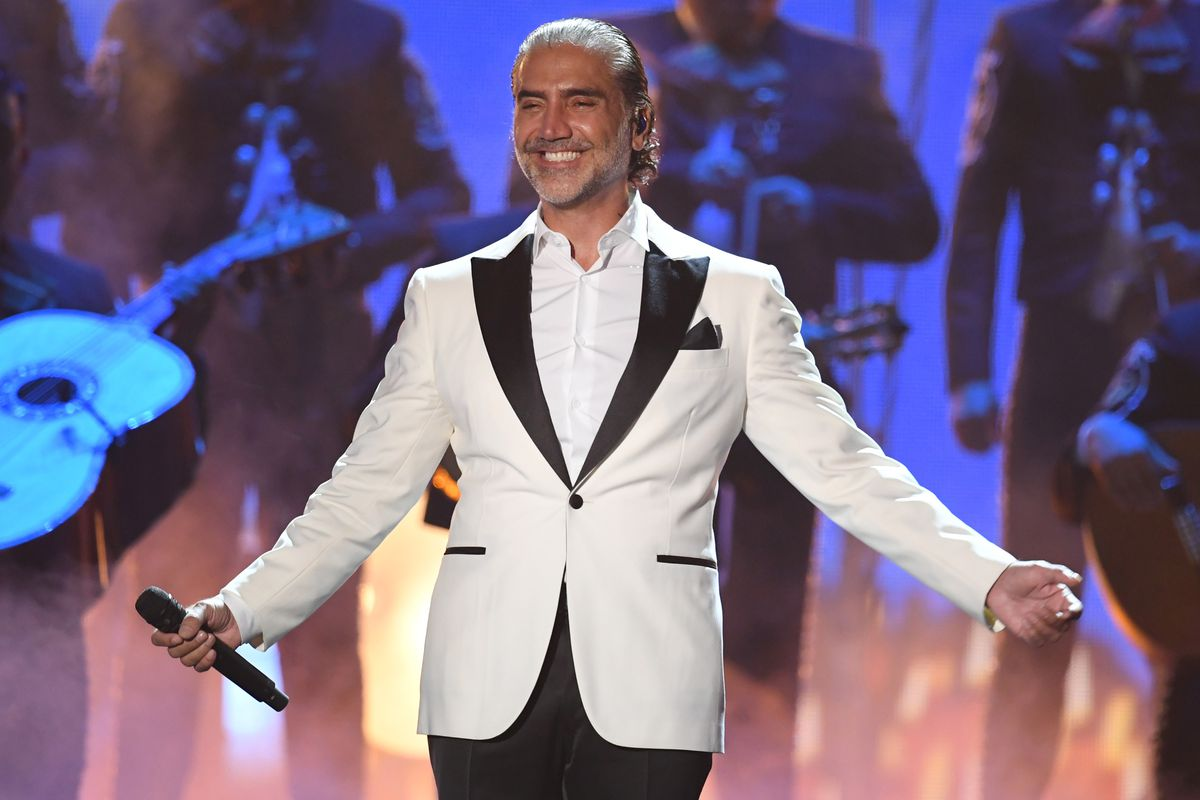 Alejandro Fernandez performs onstage at the 18th Annual Latin Grammy Awards at MGM Grand Garden Arena on November 16, 2017 in Las Vegas.