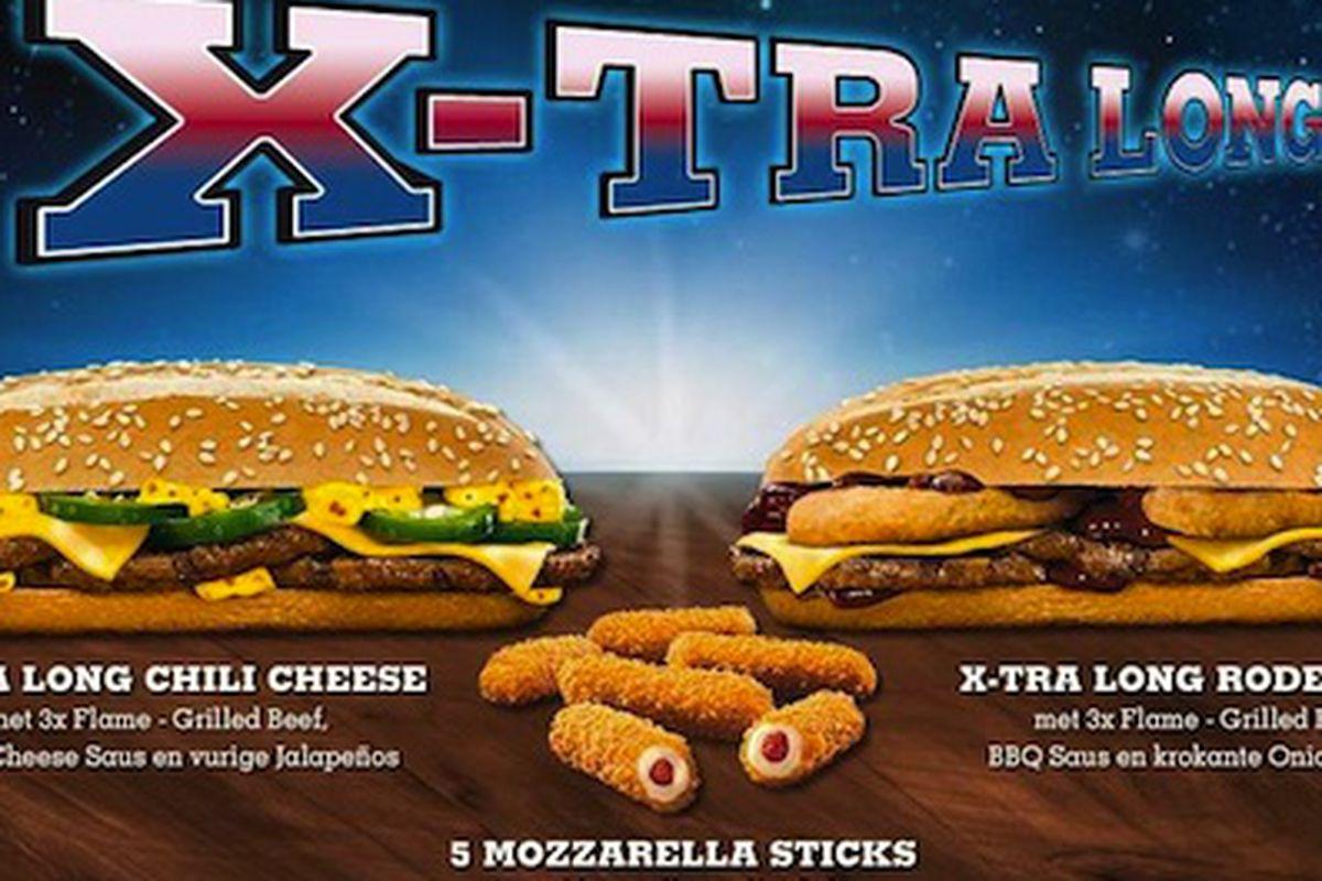 The Burger King X-Tra Long