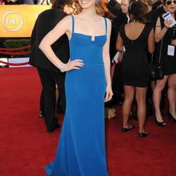 Jessica Chastain at the Screen Actors Guild Awards in 2012.