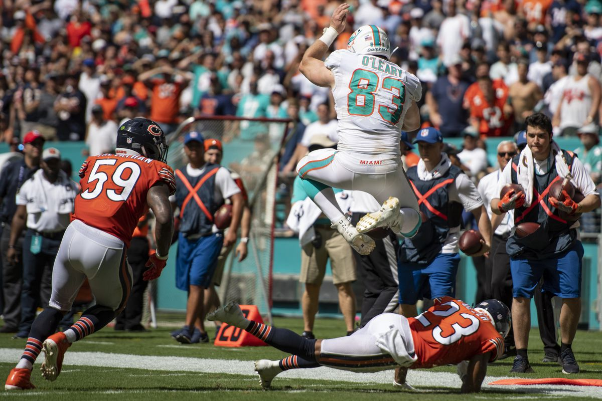 NFL: Chicago Bears at Miami Dolphins