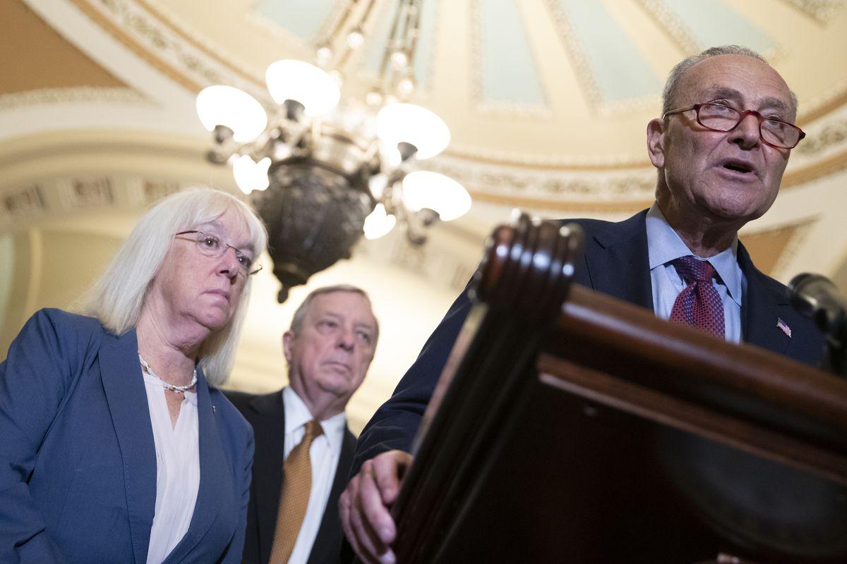 Majority Leader Tees Up Uncertain Wednesday Senate Vote On Infrastructure