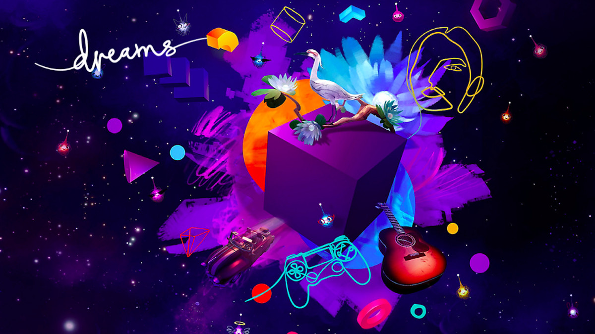 A promotional image for PS4 exclusive, Dreams.