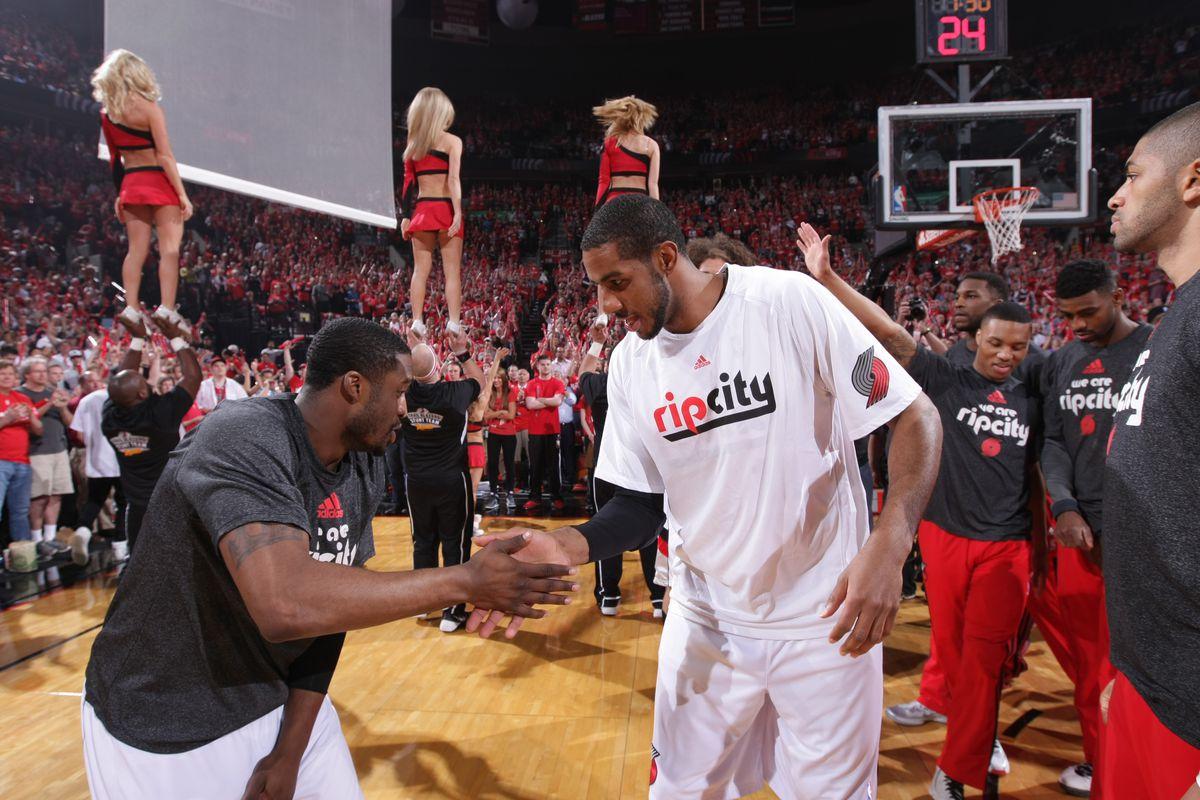 San Antonio Spurs v Portland Trail Blazers: Game Four