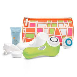 """<a href=""""http://shop.nordstrom.com/s/clarisonic-day-glo-green-mia-2-anniversary-sonic-skin-cleansing-system-nordstrom-exclusive-194-value/3306931?origin=category&BaseUrl=Beauty+Exclusives"""">Clarisonic Day Glo Green Sonic Skin Cleansing System:</a> $149 (fr"""