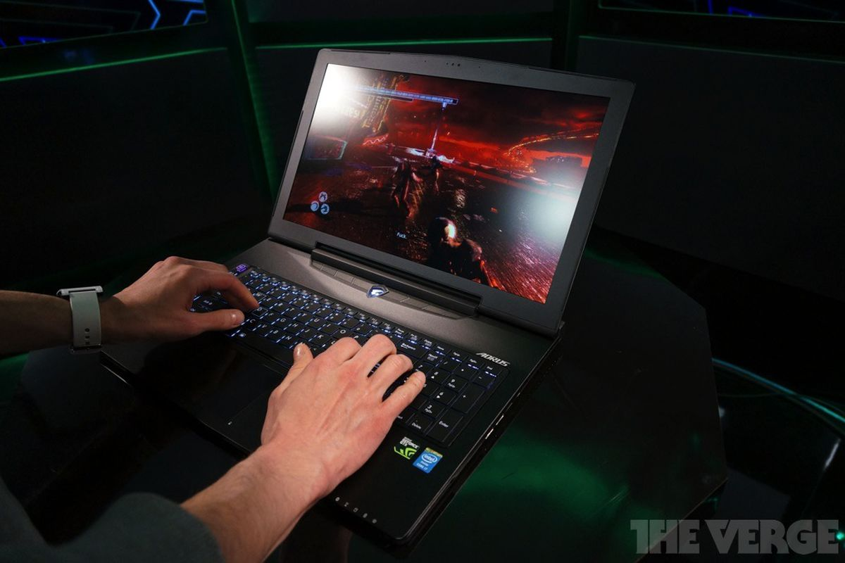 Gallery Photo: Aorus X7 gaming laptop hands-on