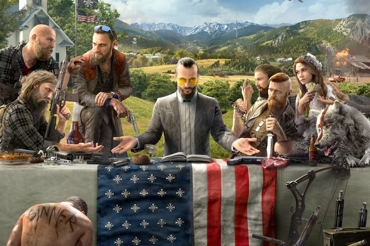 Far Cry 5 Artwork Introduces Us To A Religious Cult Update Polygon