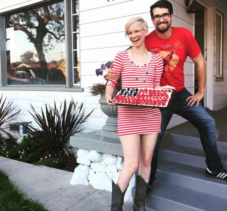 Renee and Gray, South LA homeowners