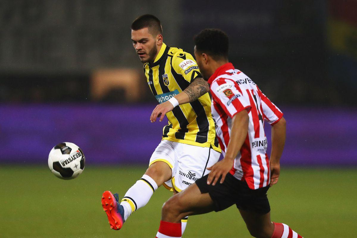 Sparta Rotterdam vs Vitesse Arnhem - Cup Semifinal