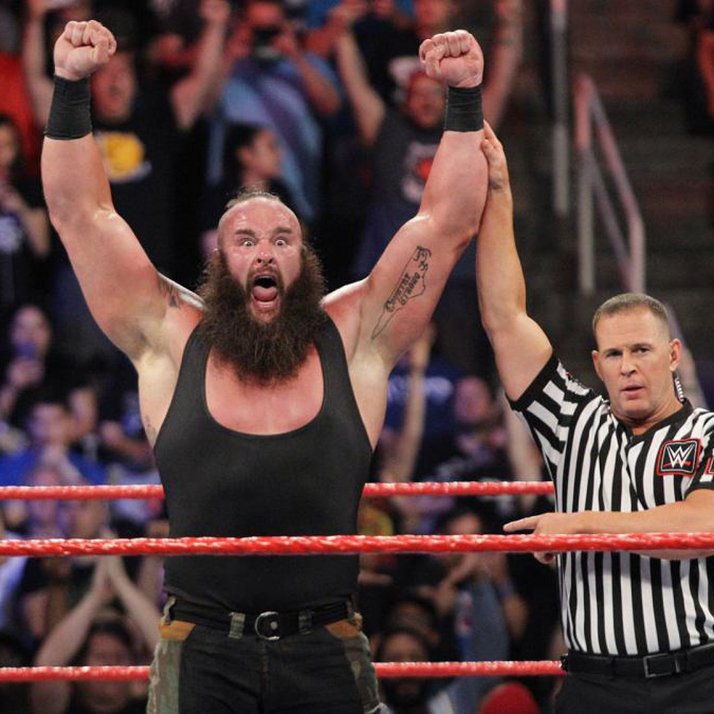 WWE SummerSlam 2018 How Braun Strowman Became WWEs 68 385 Pound Face