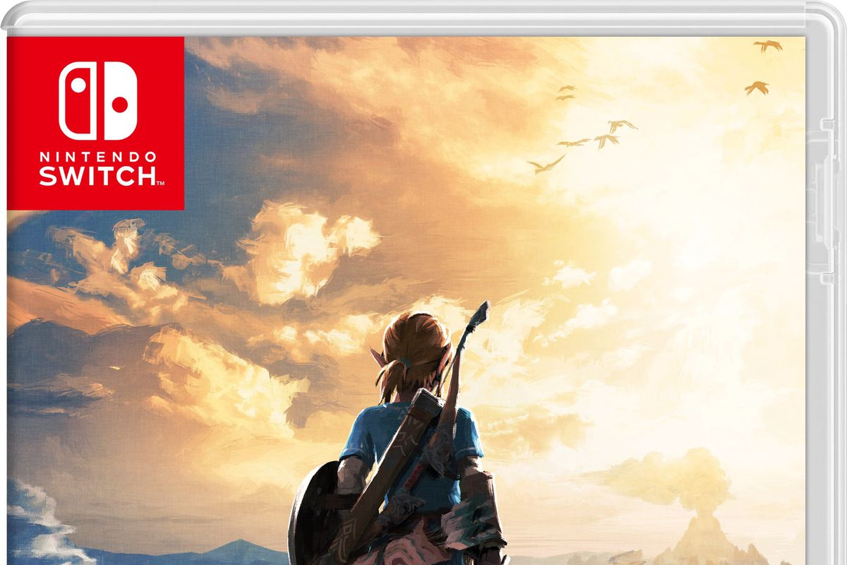 The Legend of Zelda: Breath of the Wild box art Nintendo Switch