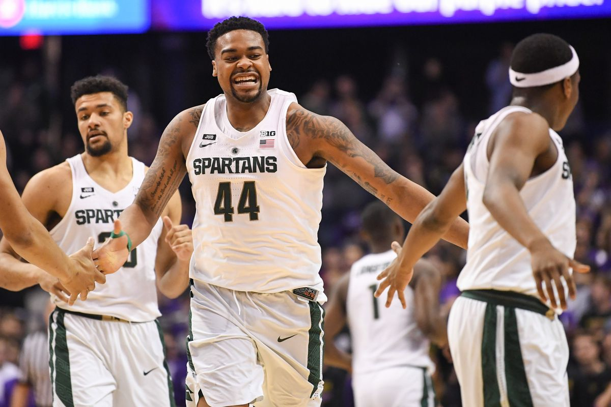 """17d727eab550 Michigan State faces Gonzaga in October basketball """"secret scrimmage ..."""