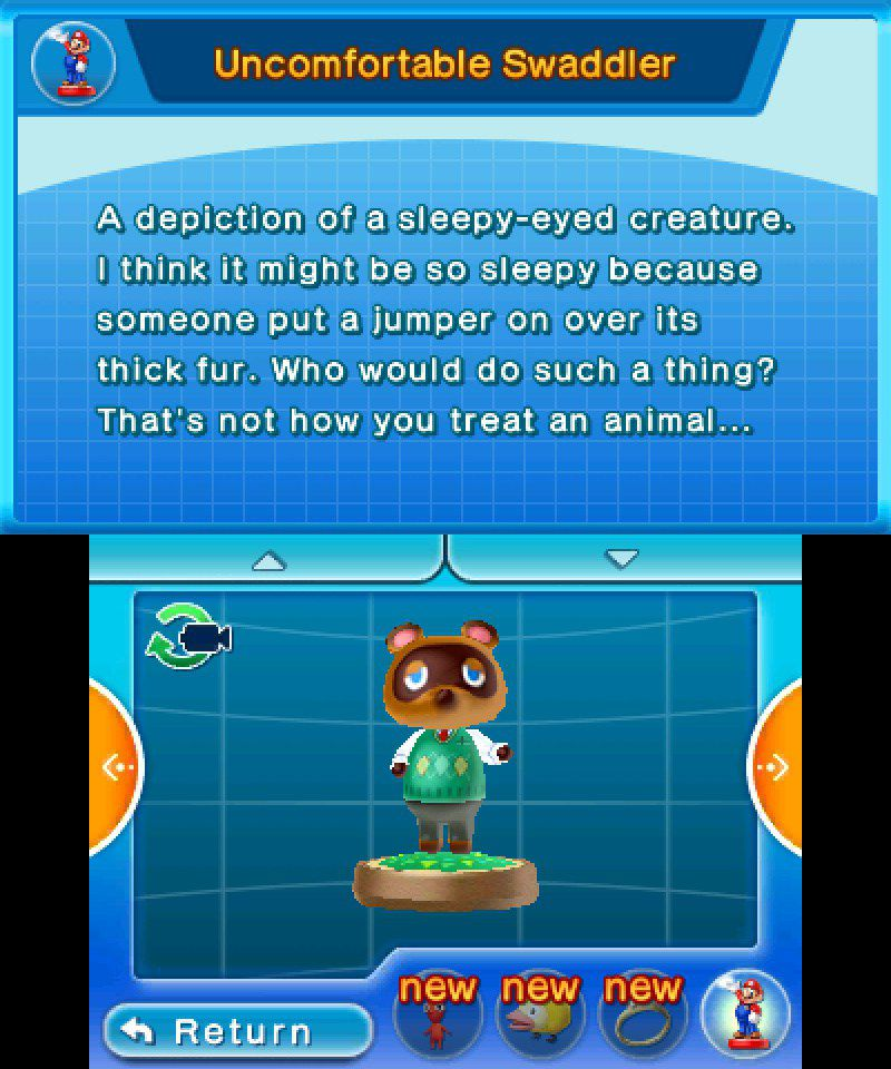Tom Nook hey! pikmin collectible