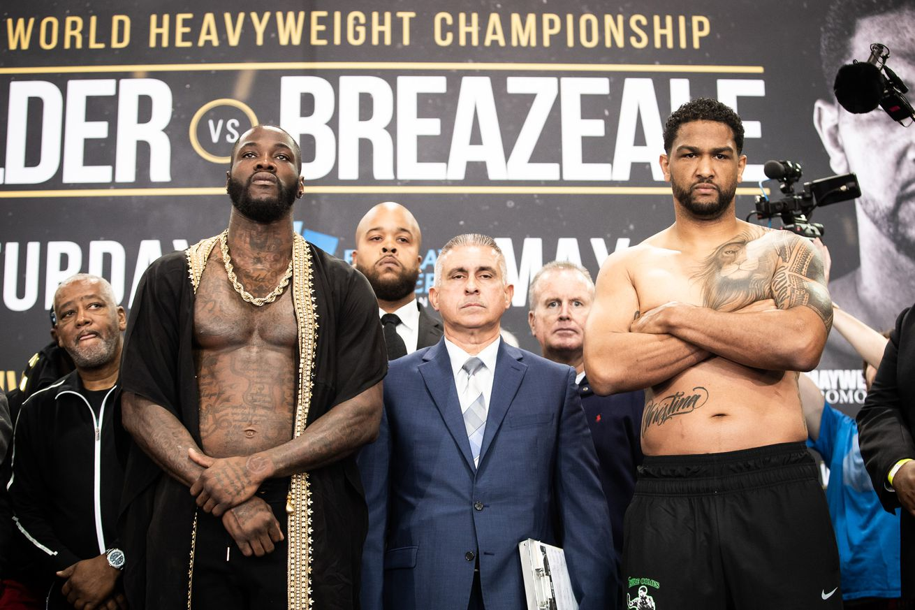 weigh in 0027.0 - Odds: Wilder, Taylor, Inoue, Saunders are Saturday favorites