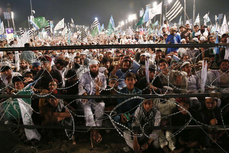 Pakistan rally