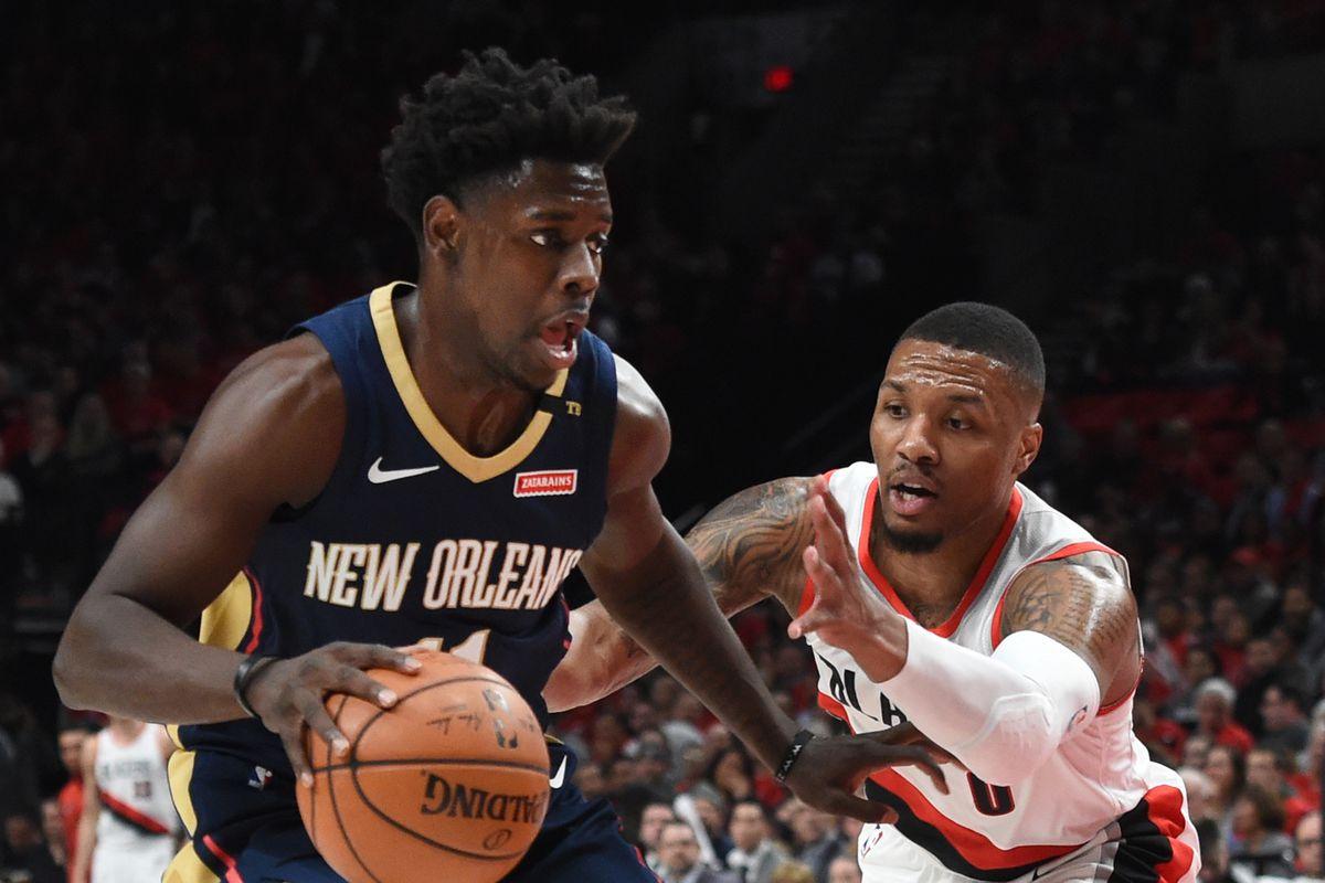 NBA: Playoffs-New Orleans Pelicans at Portland Trail Blazers