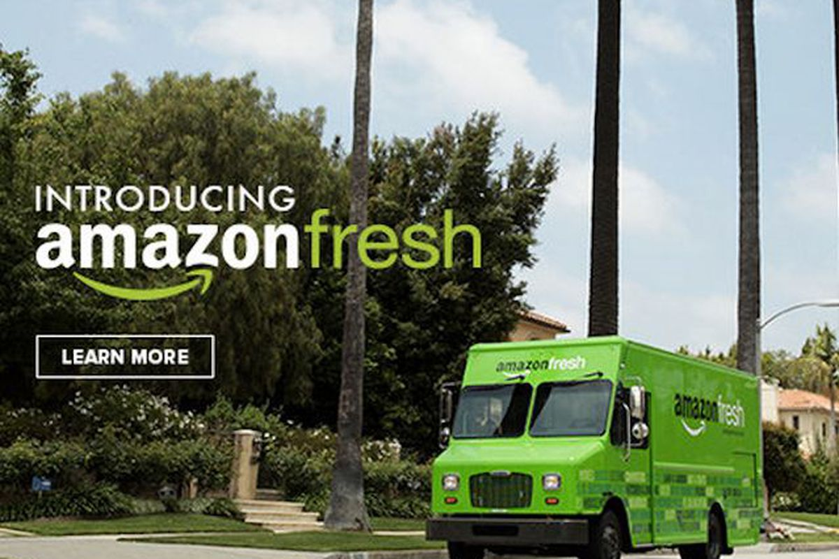 Amazon S Grocery Delivery Business Quietly Expands To Parts Of New