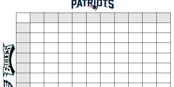 Super bowl squares template how to play online and more sbnation maxwellsz