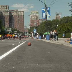 Hoops in the Hood's 12th annual Cross-City Finale shut down East Balbo Drive with seven courts and 400 participants.