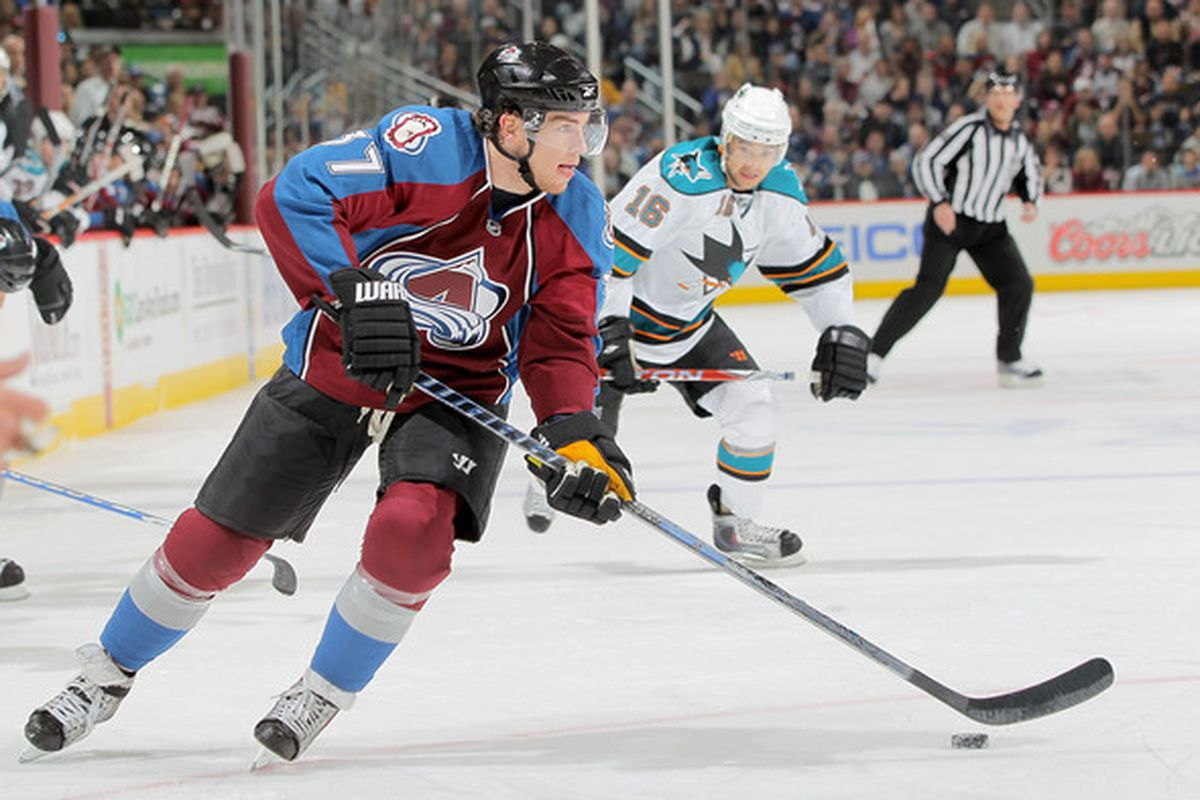 Ryan O'Reilly (28-33-61) is third in scoring for the Avalanche
