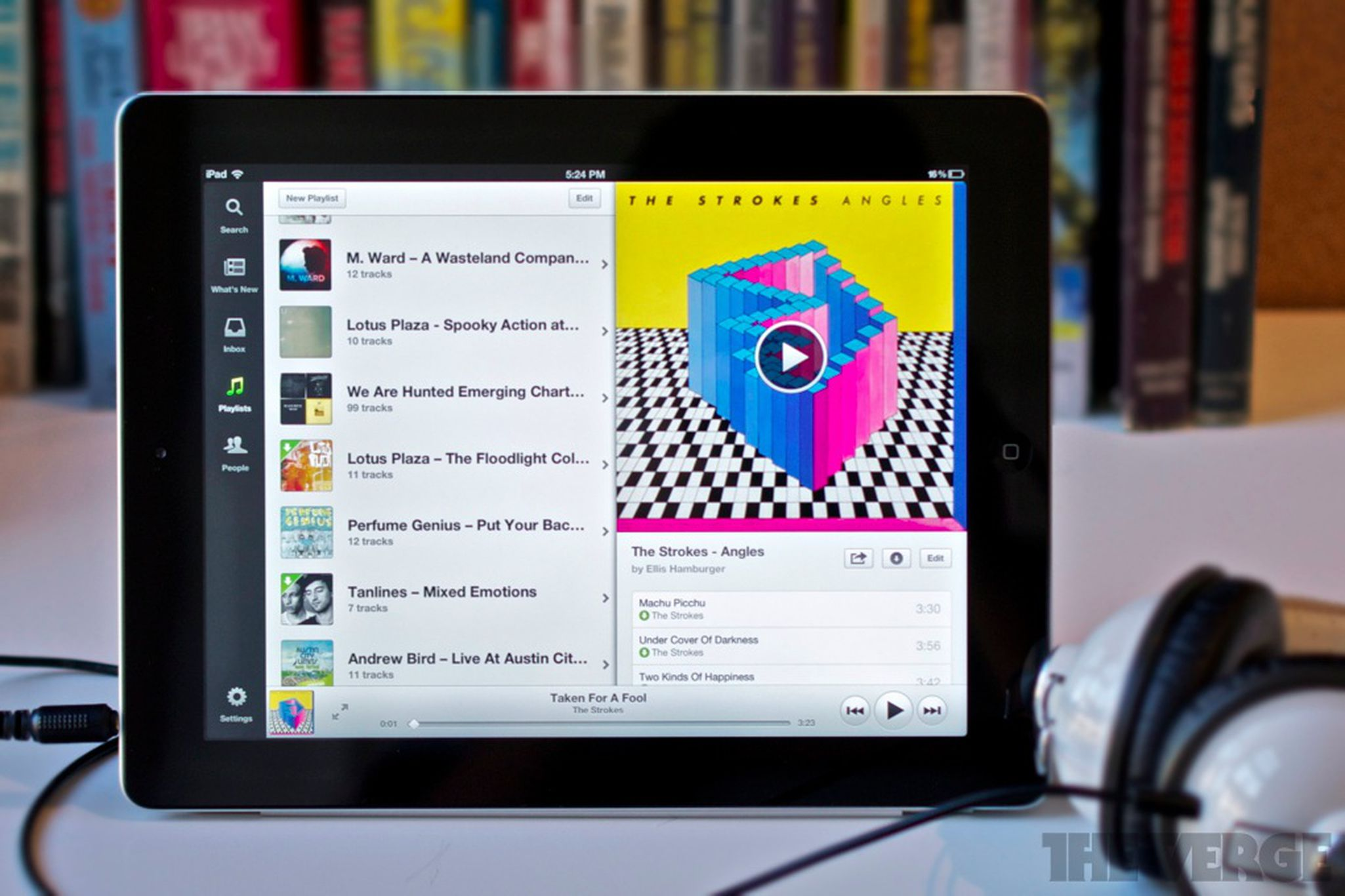 Spotify for iPad review   The Verge