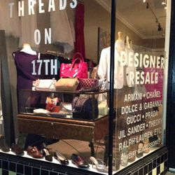 Next, begin your retail therapy at designer consignment boutique Threads on 17th (734 17th Street). There, find deep discounts on high-end labels like Chanel, Prada, Dolce & Gabbana, and more alongside cult-fave brands like Vince, Theory, and more. Take a