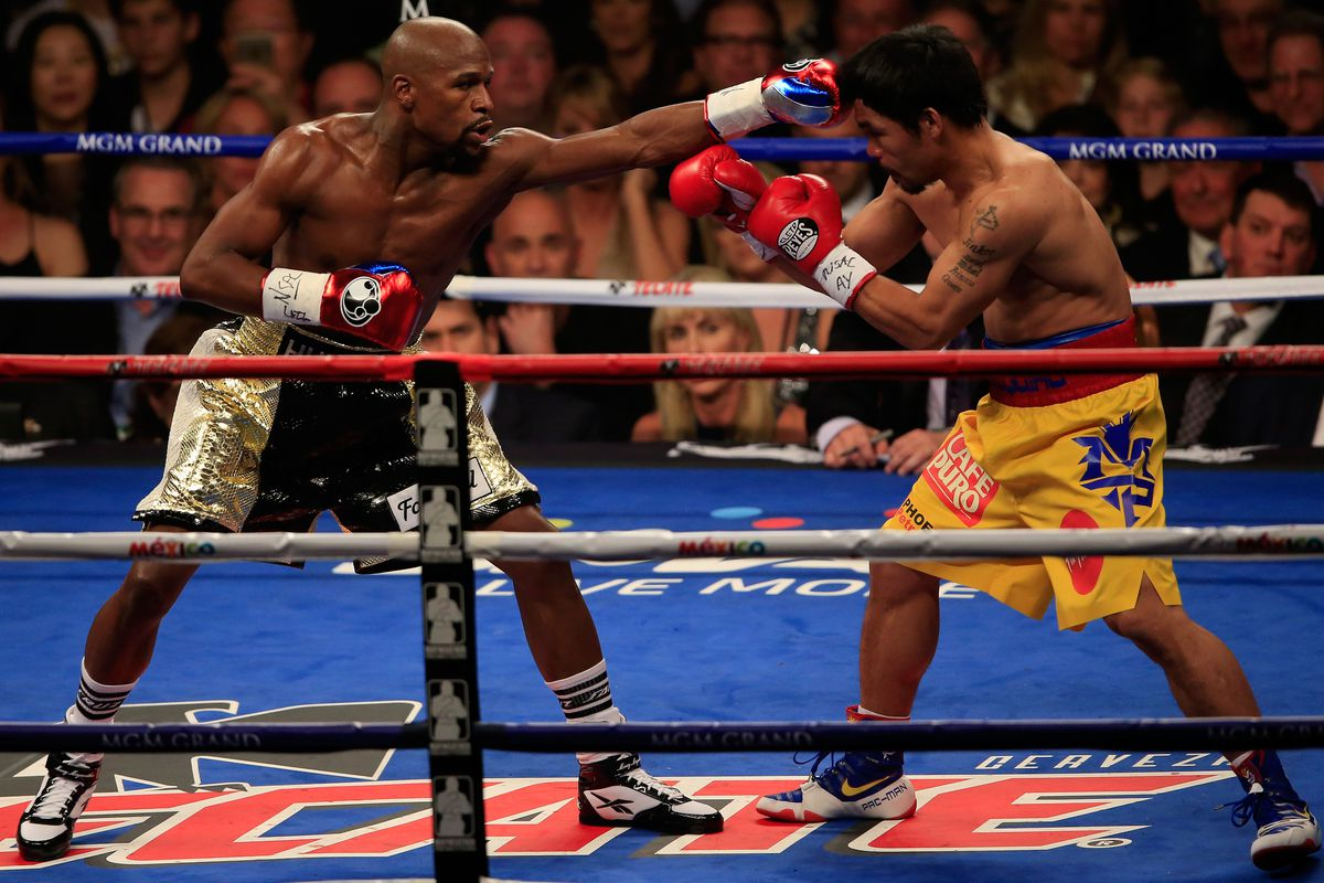 Floyd Mayweather Vs Manny Pacquiao 2 Could Be Finalized This Week Bloody Elbow