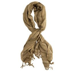 """<b>Love Quotes</b> Linen Tassel Scarf in Olive, <a href=""""http://www.scoopnyc.com/linen-tassel-scarf-357527.html"""">$88</a> at Scoop NYC"""