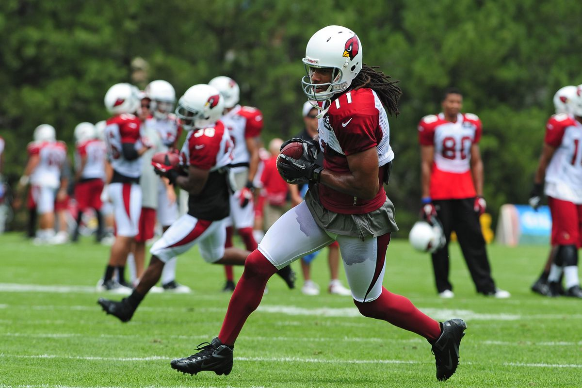 Larry Fitzgerald and the Arizona Cardinals head to Canton, Ohio to take on the New Orleans Saints in tonight's Hall of Fame Game.
