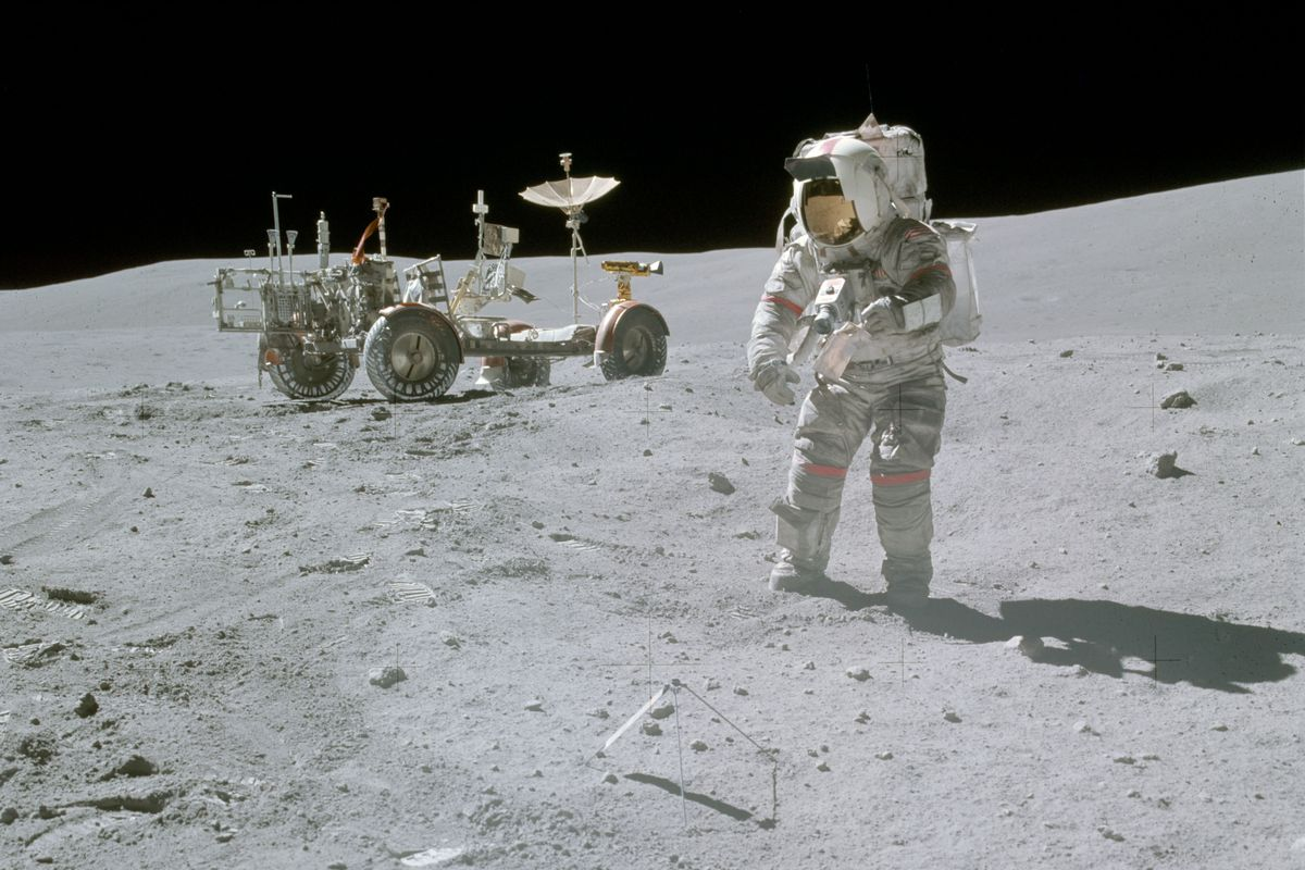 Image result for moon astronaut