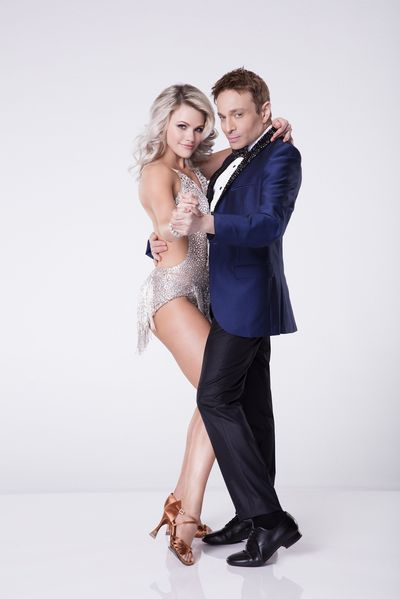 """Chris Kattan and Witney Carson on """"Dancing with the Stars."""" 