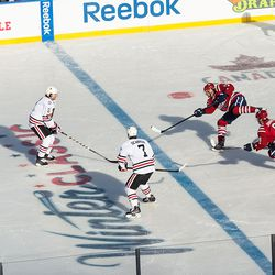 Brouwer Shoots From Blue Line
