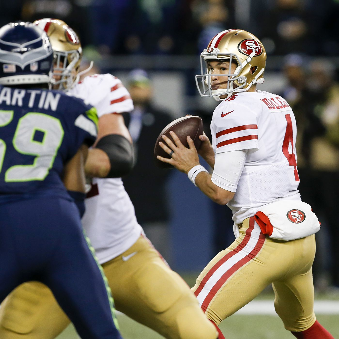 bd205e55b 3 positive things the 49ers can extract from their loss in Seattle. New ...