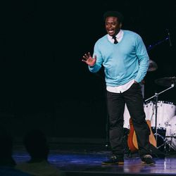 Former BYU safety Derwin Gray shares the gospel of Jesus Christ at Transformation Church.