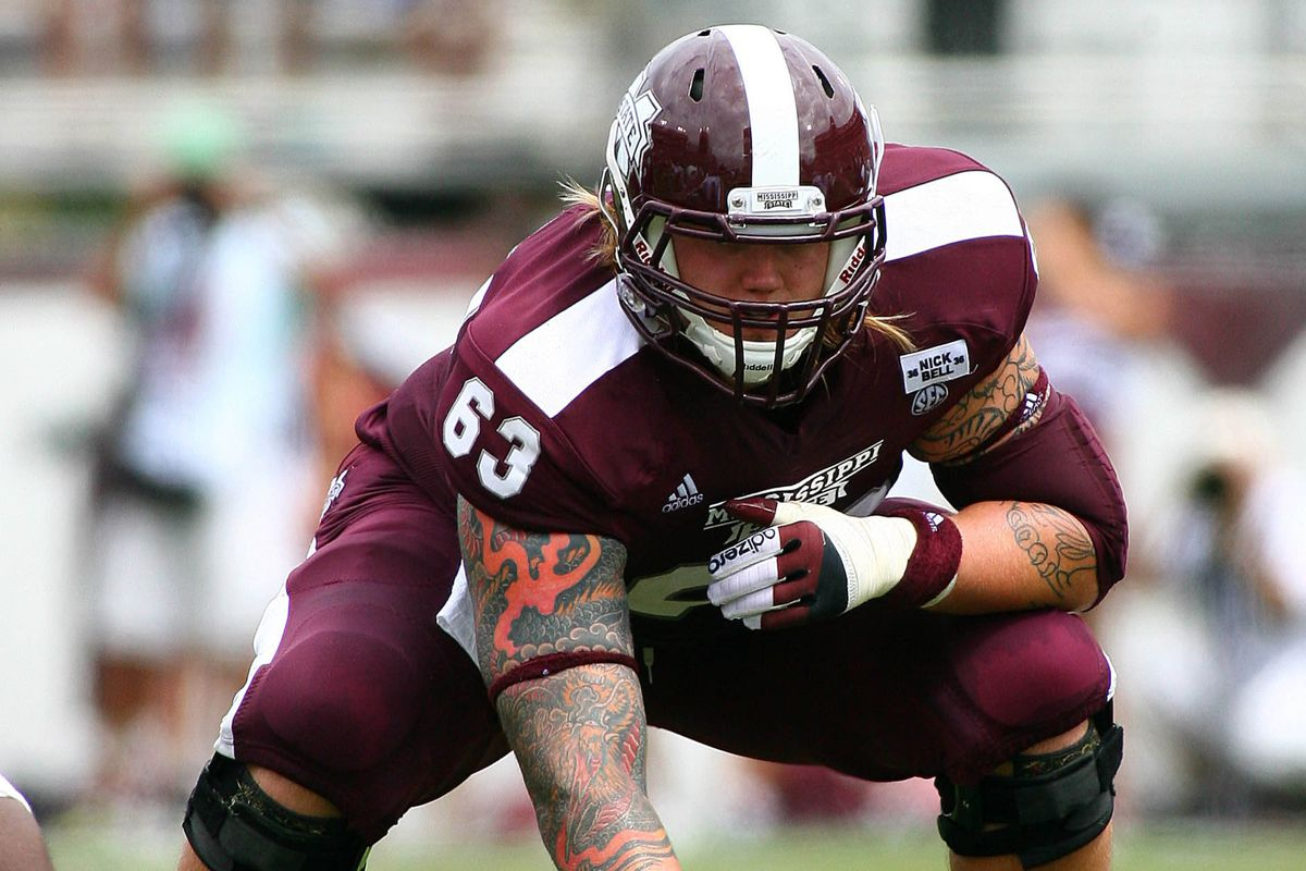 Dillon Day and the MSU offensive line has had its ups and downs this season.
