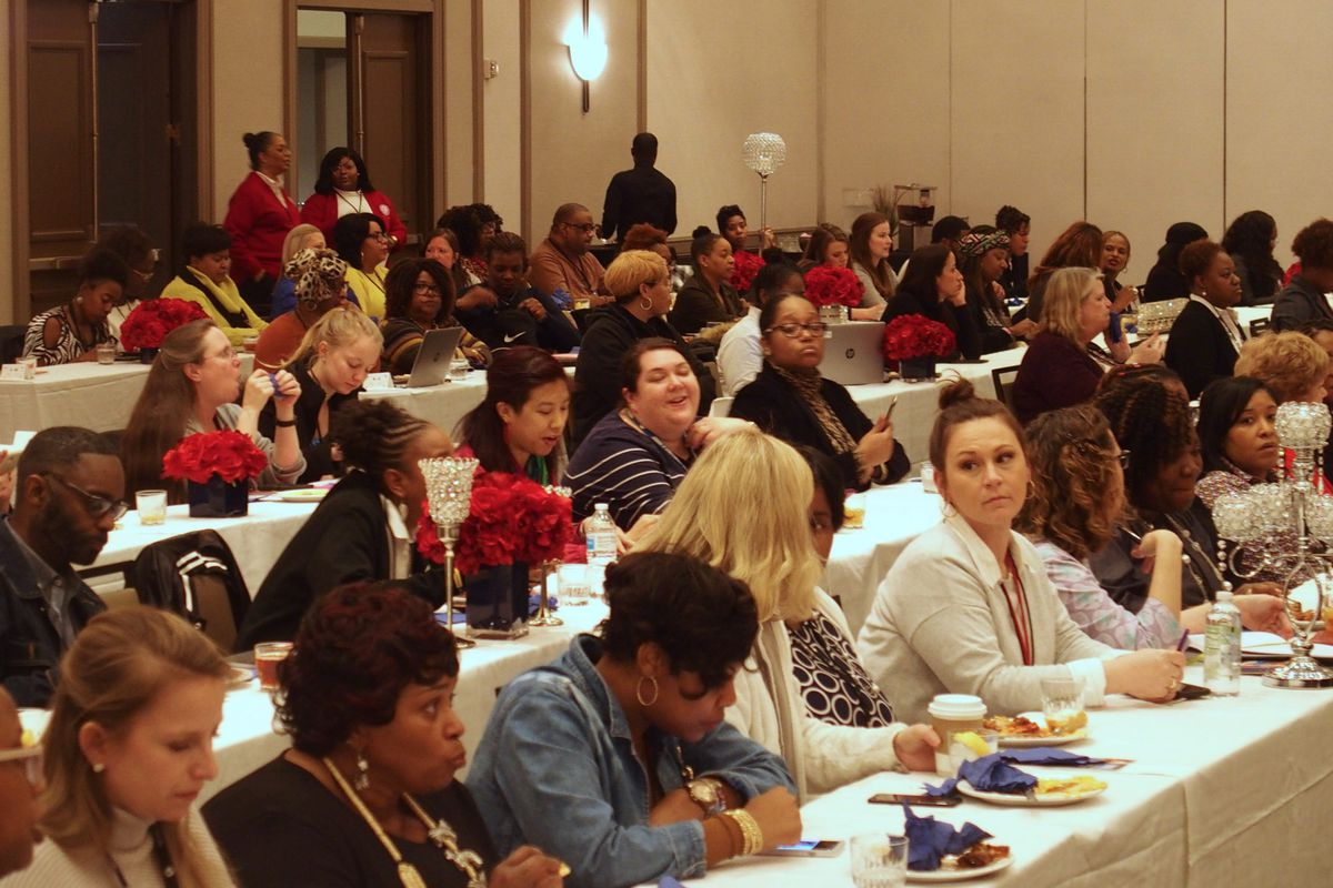 Members of the new Shelby County Schools teacher advisory committee met for the first time Feb. 26 to discuss professional development, teacher pay, and district culture.