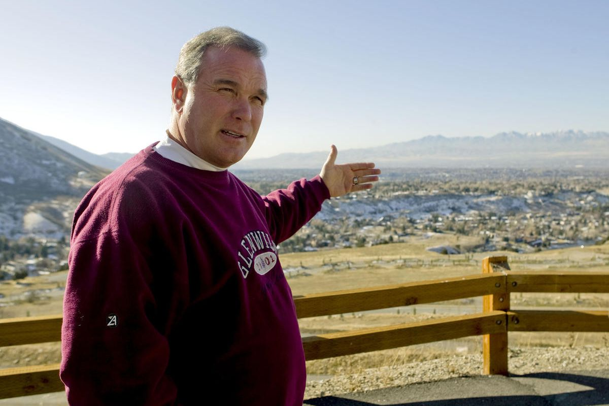 FILE - Developer Terry Diehl talks about the future development plans of the Tavaci gated community in Cottonwood Heights, Utah, Thursday, Dec. 3, 2009. The former UTA board member accused of allegedly misrepresenting more than $1 million he made on a com