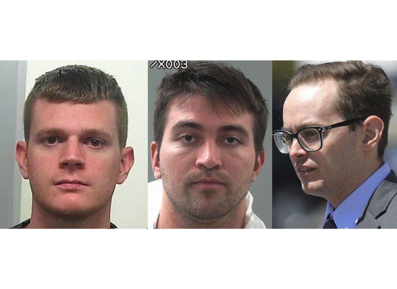 This combination of file photos shows Drew Crandall, from left, Aaron Shamo and Sean Gygi.