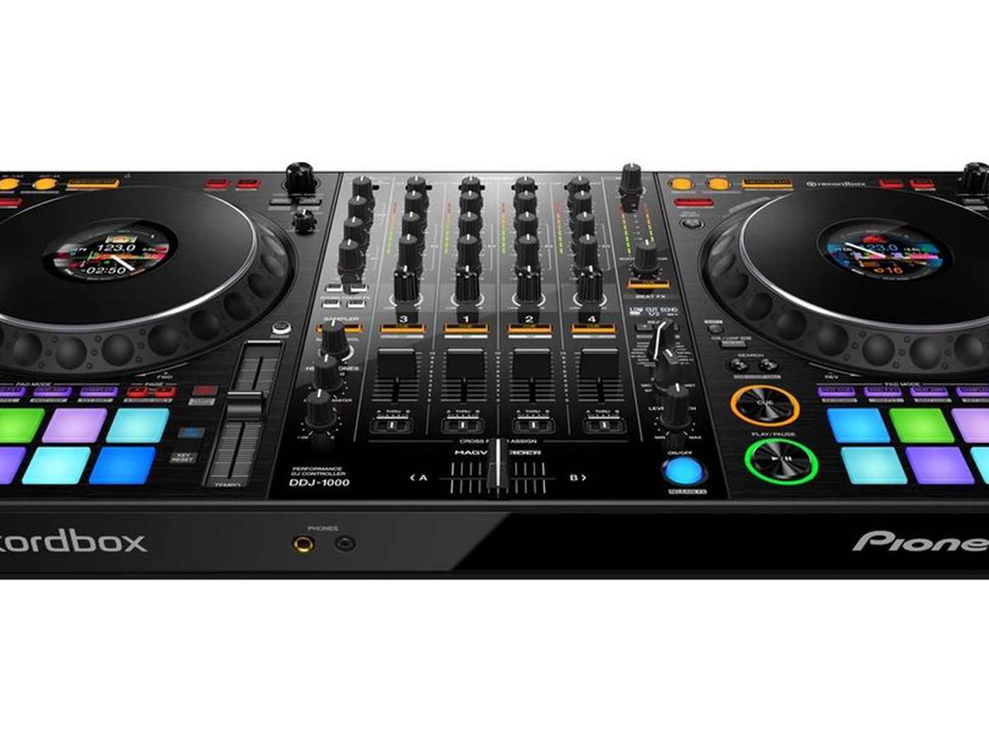 Pioneers New DJ Controller Brings A Club Style Layout To Portable Unit